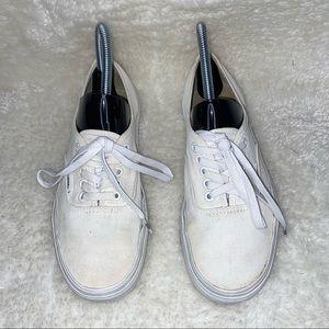 Vans White Classic Sport Era Shoes Size 8